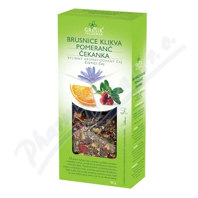 Grešík Brusinka&Pomeranč&Čekanka čist.čaj syp. 50g