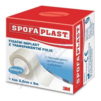 3M Spofaplast Náplast trans.SPOFAFIX 432 5mx25mm