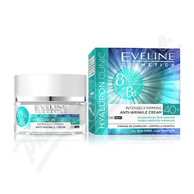 EVELINE bioHyaluron 4D day+night cream 40+ - 50ml