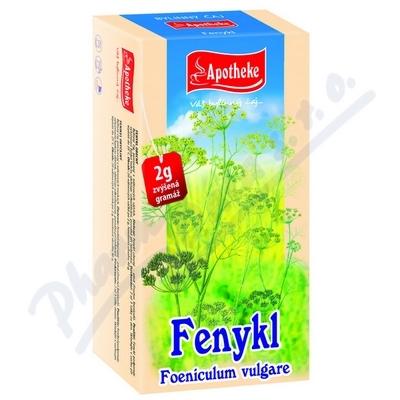 Apotheke Fenykl obecný čaj 20x2g n.s.
