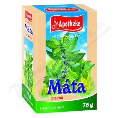 Apotheke Máta peprná-nať sypaný čaj 75g