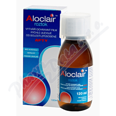 Aloclair roztok 120ml