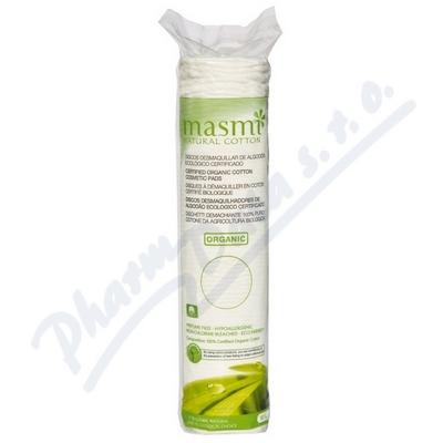 Kosmetické vat.polštářky MASMI z organ.bavlny 80ks