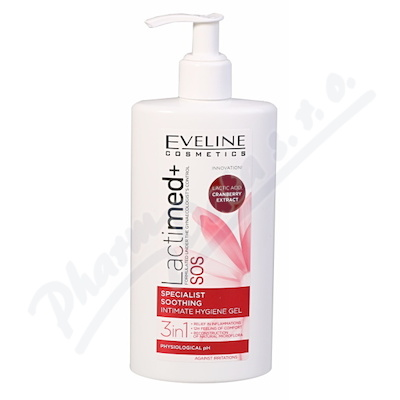 EVELINE LactiMED+ SOS zklidň.intimní gel 3v1 250ml