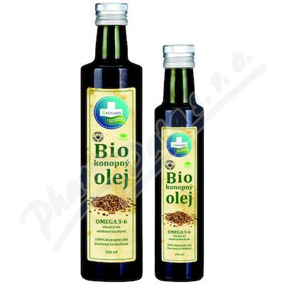 Annabis 100% Bio konopný olej 250ml