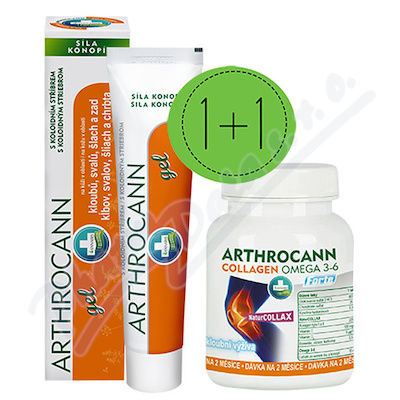 Arthrocann gel 75ml+Arthrocann Collagen tbl.60