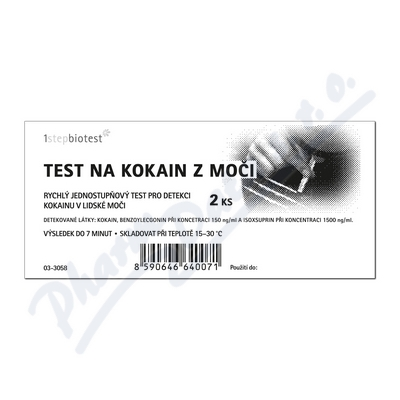 Test na kokain z moči 2ks