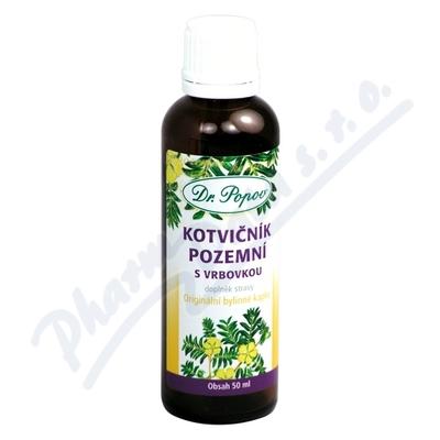Dr.Popov Kapky bylinné Kotvičník pozemní 50ml