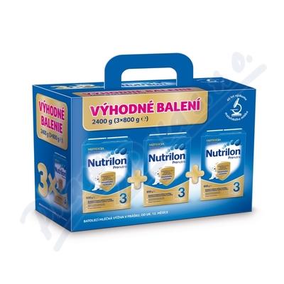 Nutrilon 3 Pronutra 3x800g Výhodné balení