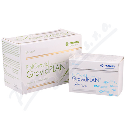 FolGravid GravidPLAN Double pack pro ženy+muže