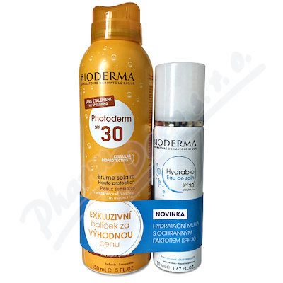 BIODERMA Photod.MlhaSPF30 150ml+Hyd.EauDeSoin 50ml