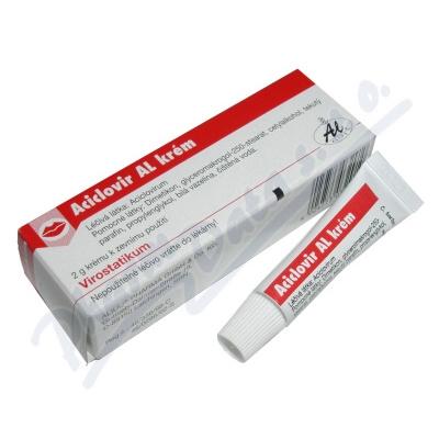 Aciclovir AL Krém drm.crm.1x2g/100mg