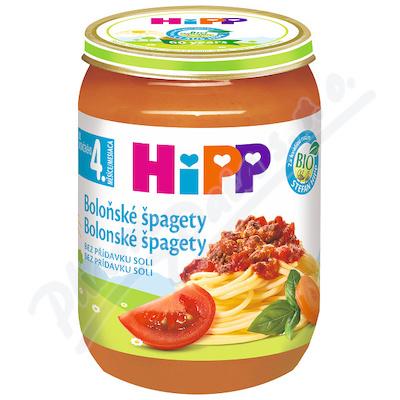 HiPP BABY BIO Špagety v boloňské omáčce 190g