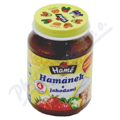 Hamánek kojenecká výživa s jahodami 190g