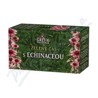 Grešík Zel. čaj s echinaceou n.s. 20x1.5 g přebal