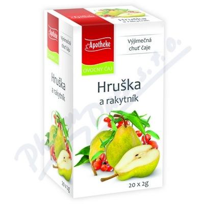 Apotheke Hruška a rakytník čaj 20x2g n.s.