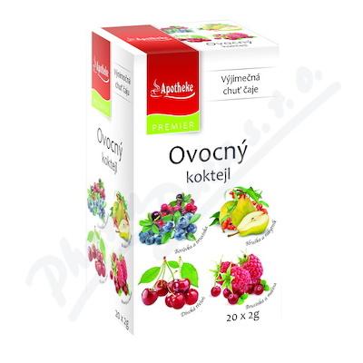 Apotheke Ovocný koktejl čaj.směsi 4v1 20x2g n.s.