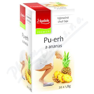 Apotheke Pu-erh a ananas čaj 20x1.8g n.s.
