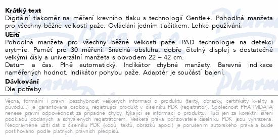 Microlife Tlakoměr BP A2 Basic digitální automat.