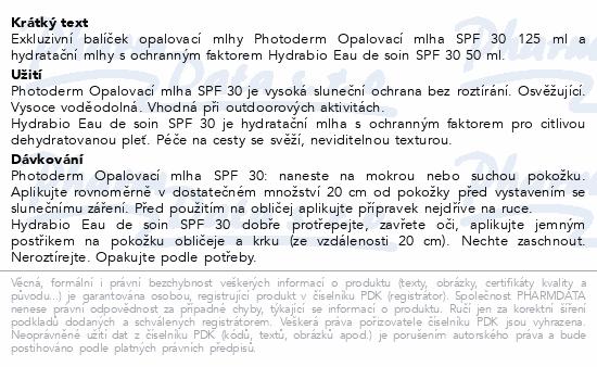 BIODERMA Photod.MlhaSPF30 150ml+Hyd.EauDeSoin 50ml