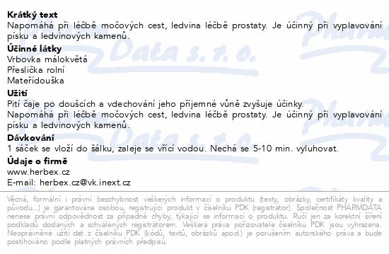 HERBEX Čaj urologický n.s.20x3g